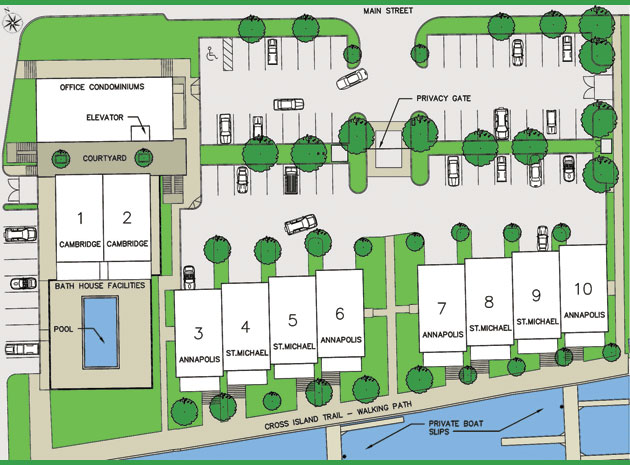 Townhome Site Plan